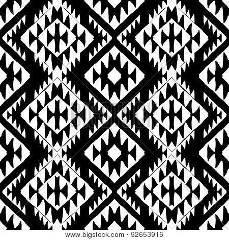 Aztec background.