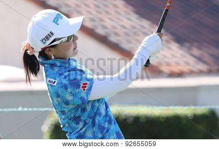 Ayako Uheara At The Ana Inspiration Golf Tournament 2015