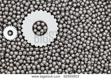 Stainless Steel Ball Bearings And Gear