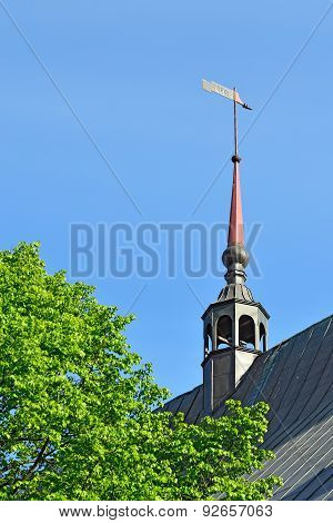 Weathervan Eof Koenigsberg Cathedral. Kaliningrad, Russia