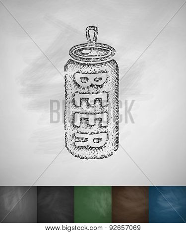 canned beer icon