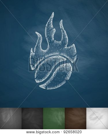coffee roasting icon