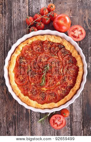 tomato quiche