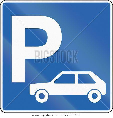 Passenger Car Parking In Iceland