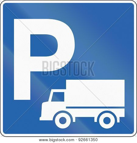 Lorry Parking In Iceland