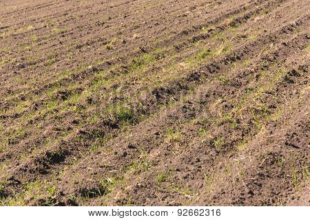 Ploughed Land