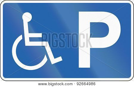 Disabled Parking In Iceland