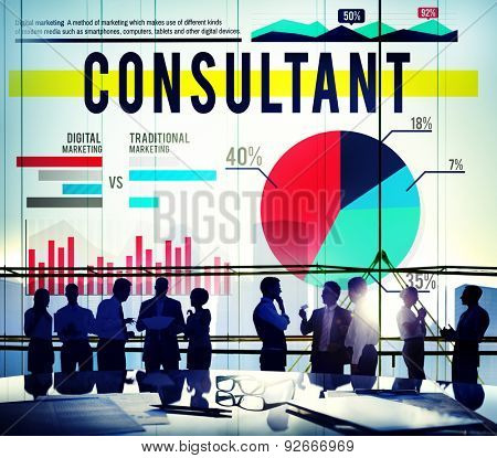 Consultant Adviser Leader Business Concept