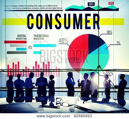 Consumer Costumer Buyer Marketing Business Concept