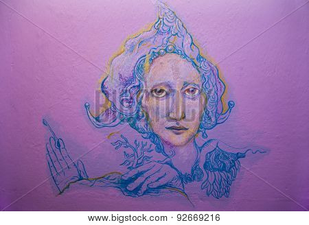 Violett Fairy Keykeeper