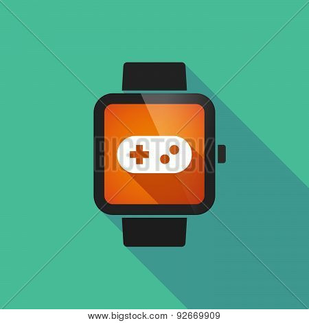 Smart Watch With A Game Pad