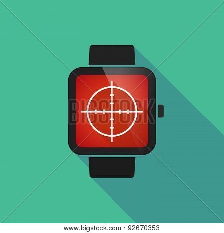 Smart Watch With A Crosshair