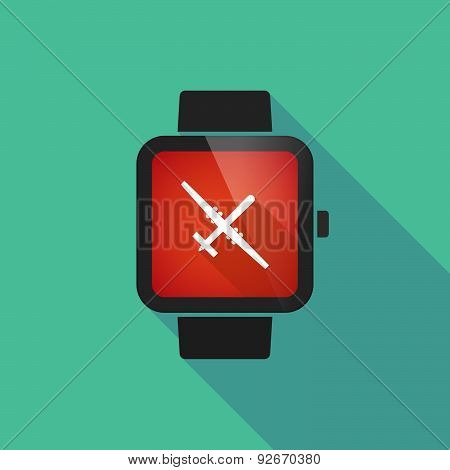 Smart Watch With A War Drone