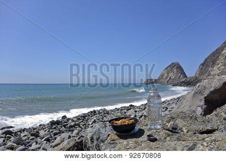 Beach Lunch Break