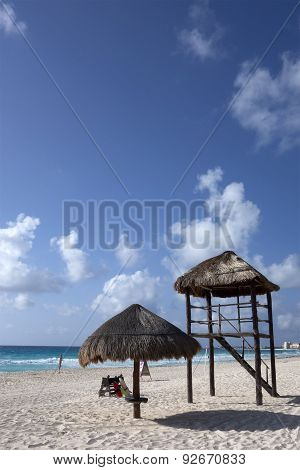 Cancun White Sand Beach, Mexico