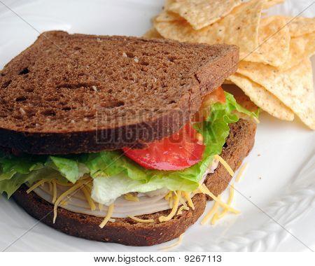 Turkey Sandwich Lunch