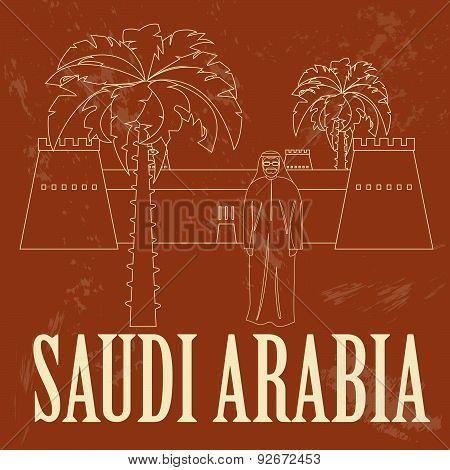 Saudi Arabia infographics, statistical data, sights