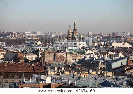 Panorama of St. Petersburg