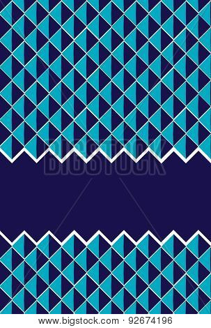 Abstract Deep Blue Pattern Background