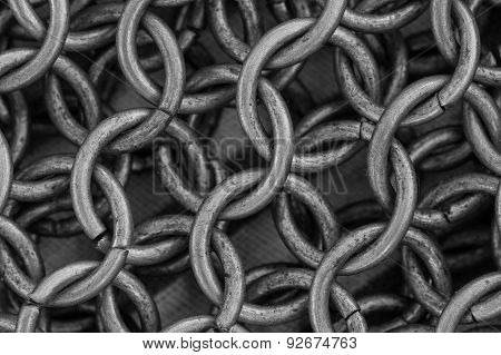 Chain Mail Close Up