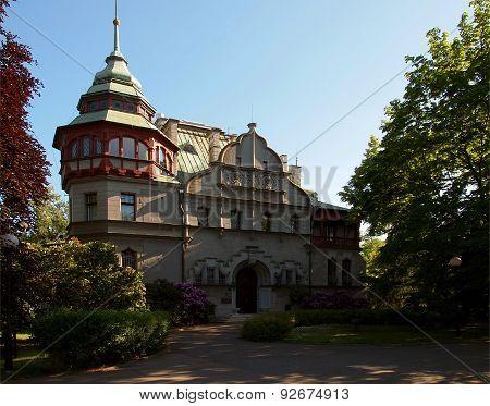 Villa Reincholda Richter in Lodz.