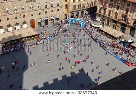 Florence. Marathon.