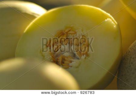 Fresh Sliced Honeydew Melon