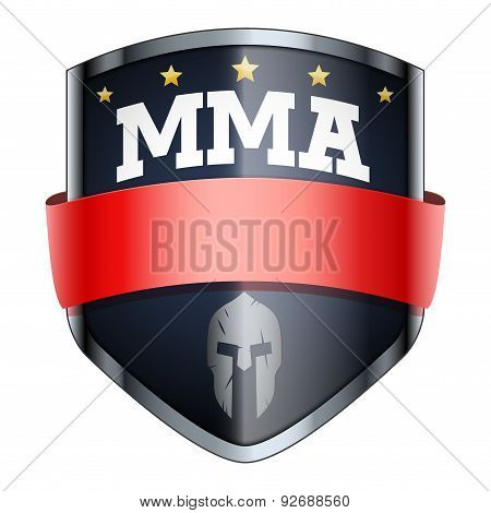 MMA Fights Shield badge.