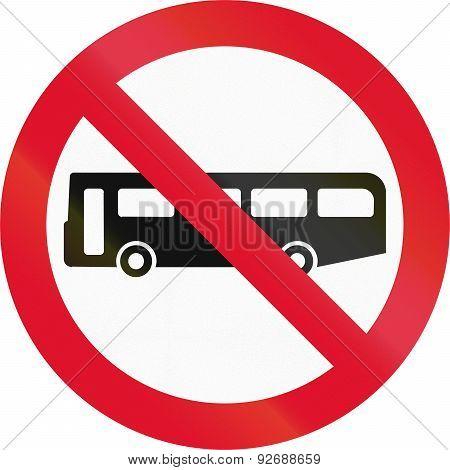 No Buses In Hong Kong