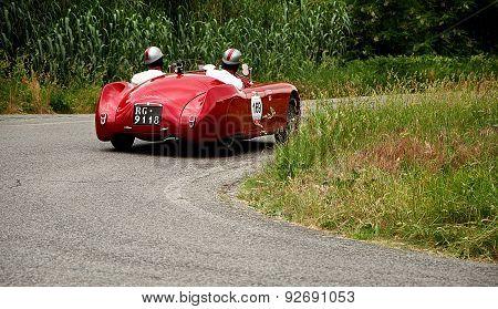 old car CISITALIA 220 SMM Spider 1948  mille miglia 2015