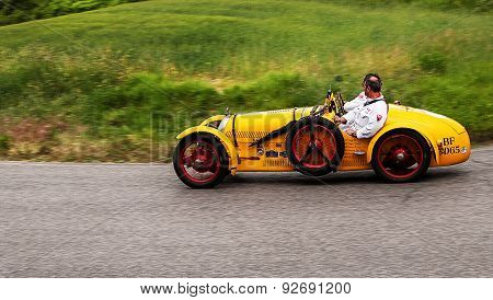 old car B.N.C. 527 Grand Sport 1927   mille miglia 2015