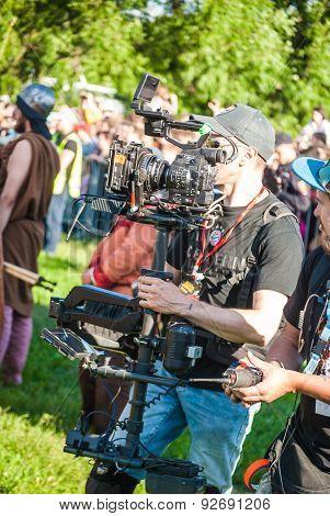 Steadiseg cameraman