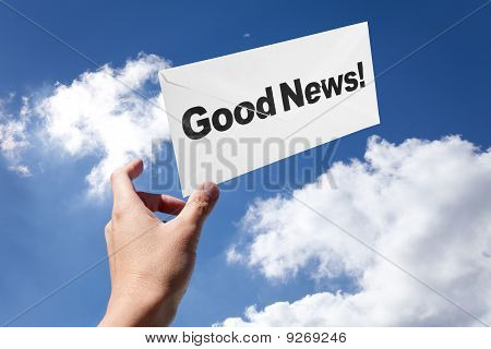 Good News And Envelope