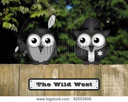 Wild West Sign