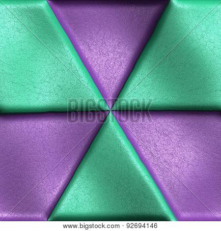 Seamless leather tile