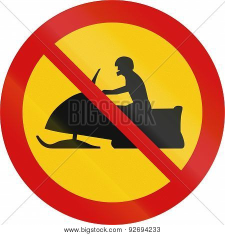 No Snowmobiles In Iceland