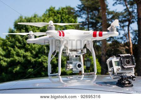 Air drone.