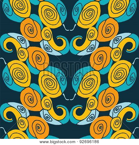 Seamless Abstract Symmetry Pattern