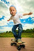 image of skateboard  - Active childhood - JPG