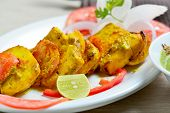 foto of paneer  - Paneer tikka which can be eaten with main course  - JPG