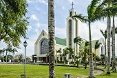 stock photo of luzon  - Our Lady of Penafrancia Church Southern Luzon Philippines - JPG