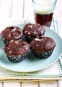 picture of chocolate-chip  - Rocky road muffins - JPG