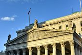 stock photo of supreme court  - The New York Supreme Court in New York City - JPG