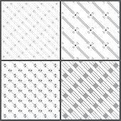 stock photo of dash  - Seamless pattern - JPG