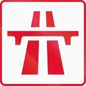 image of traffic rules  - Hong Kong traffic sign - JPG