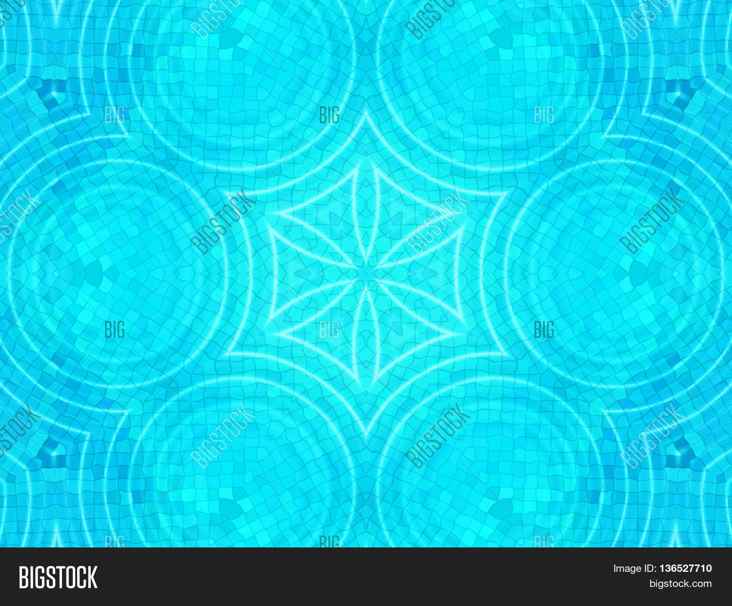 Bright blue tile background image photo bigstock Bright blue tile