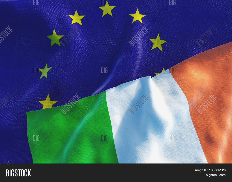 flags ireland european union irish image u0026 photo bigstock