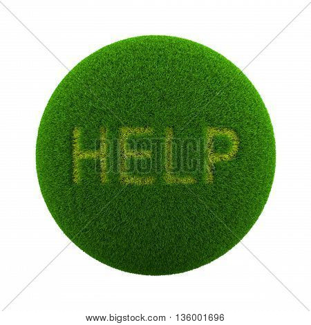 Grass Sphere Help Icon