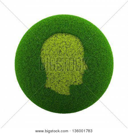 Grass Sphere Profile Icon