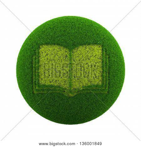 Grass Sphere Book Icon